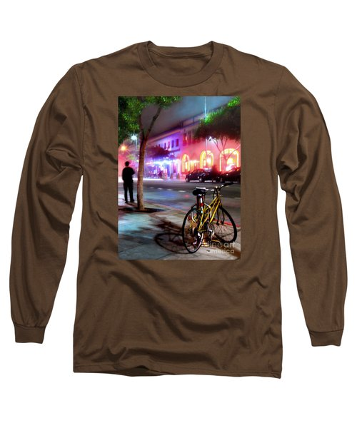 Long Sleeve T-Shirt featuring the photograph Paris In Santa Monica by Jennie Breeze