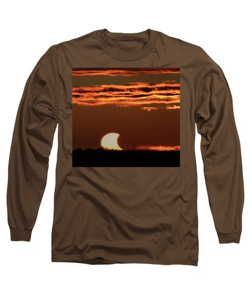 Pac-man Sun Long Sleeve T-Shirt