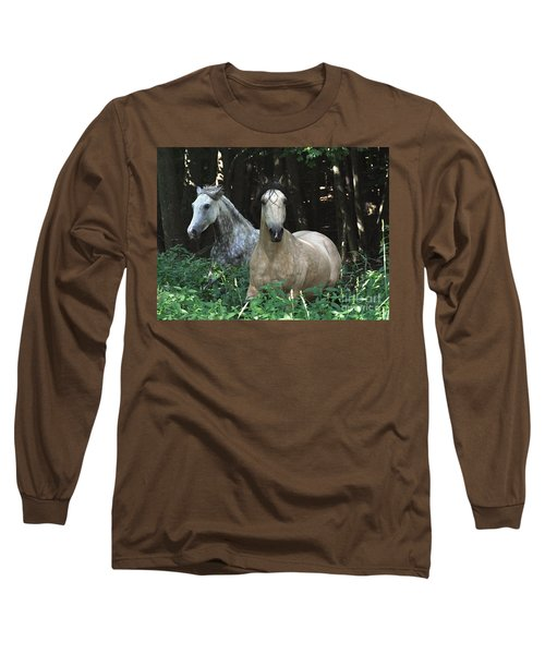 Paso Fino Mares Pay Attention Long Sleeve T-Shirt by Patricia Keller
