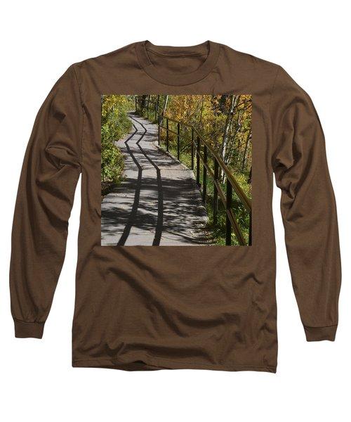 Path Shadow Long Sleeve T-Shirt