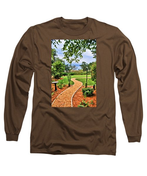 Garden Path To Wild Marsh Long Sleeve T-Shirt