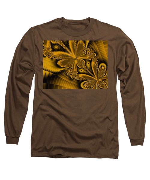 Long Sleeve T-Shirt featuring the digital art Paths Of Possibility by Elizabeth McTaggart