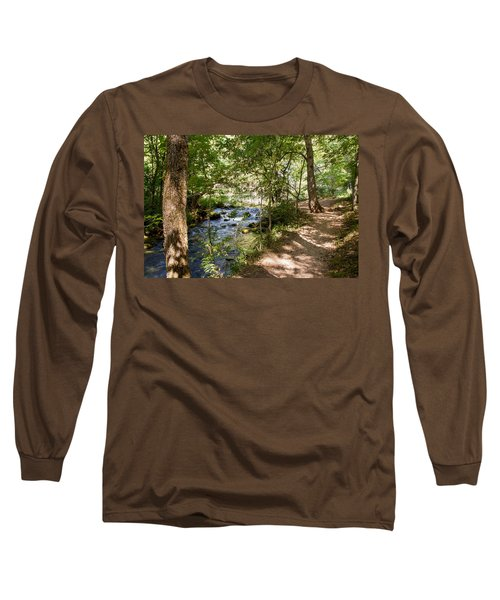 Long Sleeve T-Shirt featuring the photograph Pathway Along The Springs by John M Bailey