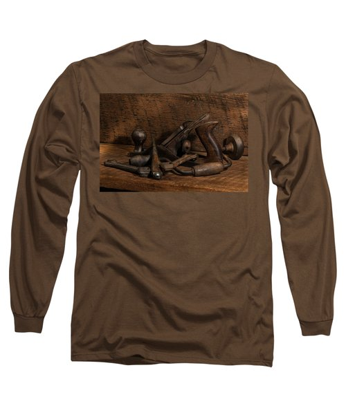 Paw Paw's Tools Long Sleeve T-Shirt