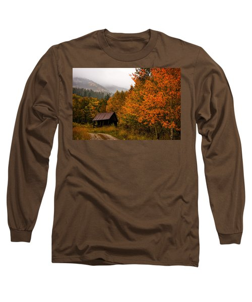 Long Sleeve T-Shirt featuring the photograph Peaceful by Ken Smith