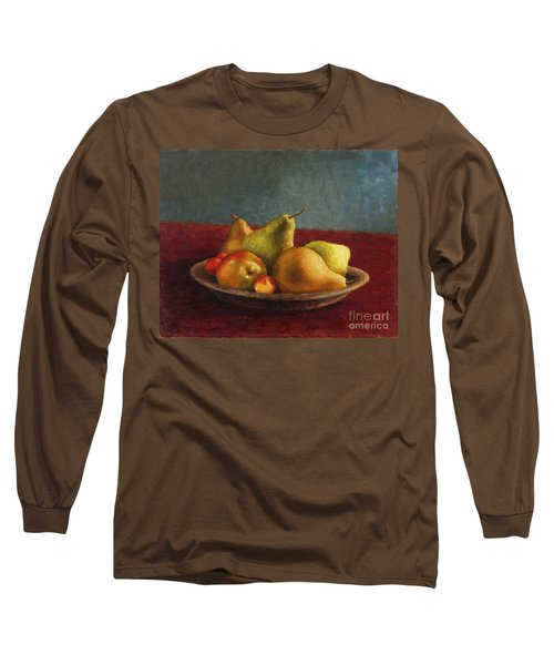 Pears And Cherries Long Sleeve T-Shirt