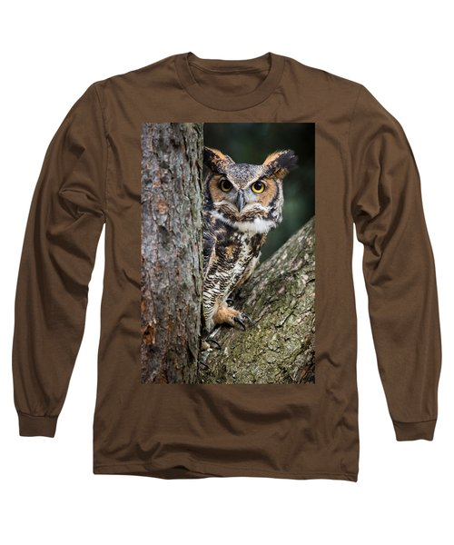 Peering Out Long Sleeve T-Shirt
