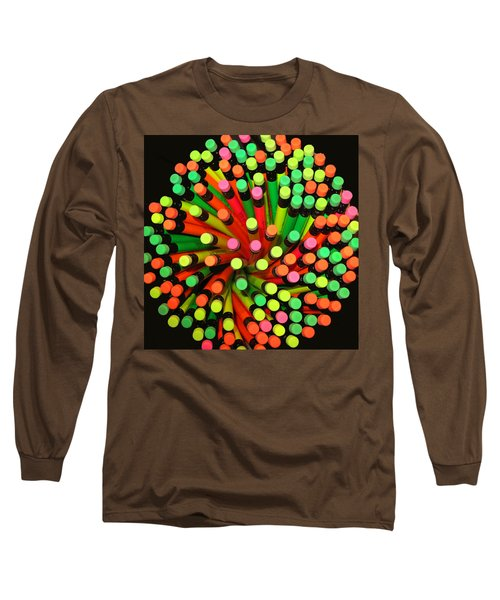 Pencil Blossom Long Sleeve T-Shirt