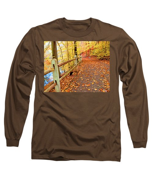 Pennypack Trail Philadelphia Fall Long Sleeve T-Shirt