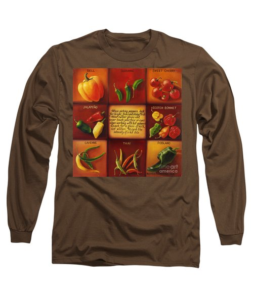 Pepper Facts  Long Sleeve T-Shirt