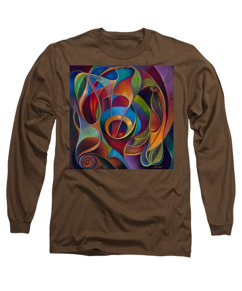 Perplexity Long Sleeve T-Shirt by Claudia Goodell
