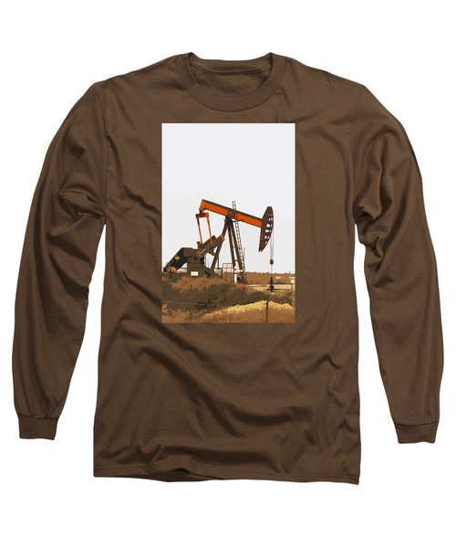 Petroleum Pumping Unit Long Sleeve T-Shirt