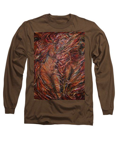 Trumpets Aired Long Sleeve T-Shirt by Dawn Fisher