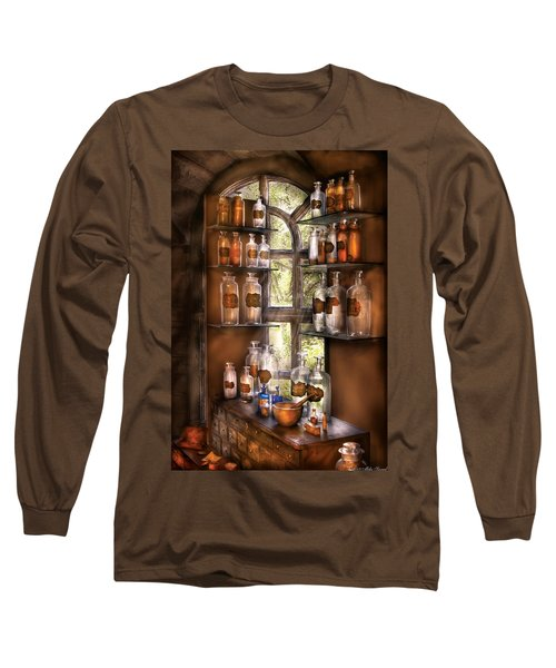 Pharmacist - Various Potions Long Sleeve T-Shirt by Mike Savad