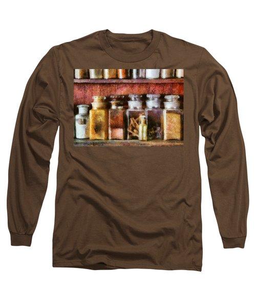 Pharmacy - The Curious Doctor Long Sleeve T-Shirt