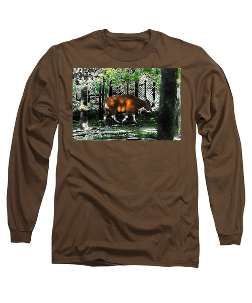 Phenomena Of Banteng Walk Long Sleeve T-Shirt