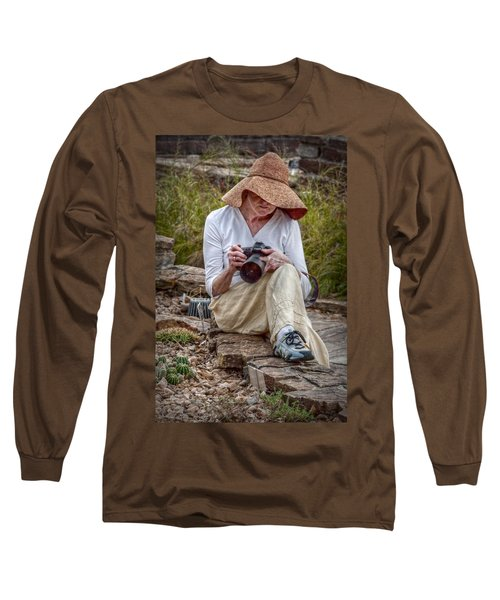 Photographer Long Sleeve T-Shirt by Linda Unger