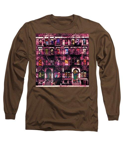 Physical Graffitied  Long Sleeve T-Shirt