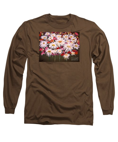 Long Sleeve T-Shirt featuring the painting Pick One For Me by Lori  Lovetere