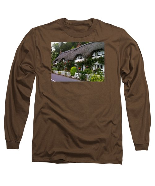 Picturesque Cottage Long Sleeve T-Shirt