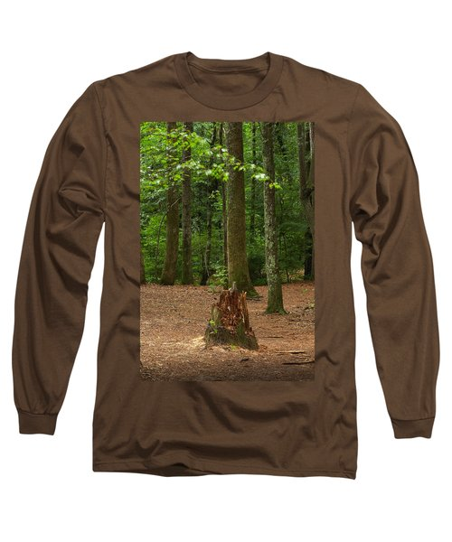 Pine Stump Long Sleeve T-Shirt