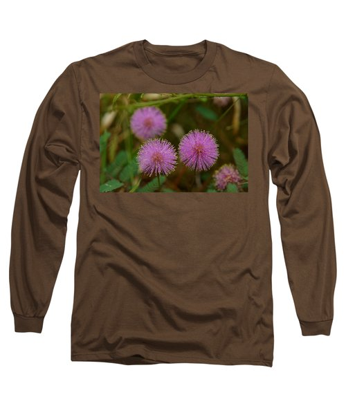 Pink Mimosa Long Sleeve T-Shirt