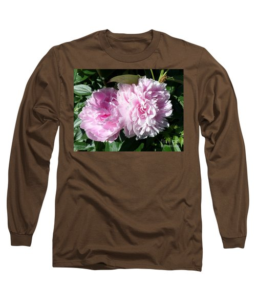 Pink Peonies 3 Long Sleeve T-Shirt