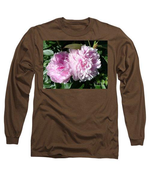 Pink Peonies 3 Long Sleeve T-Shirt