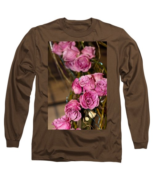 Long Sleeve T-Shirt featuring the photograph Pink Roses by Patrice Zinck
