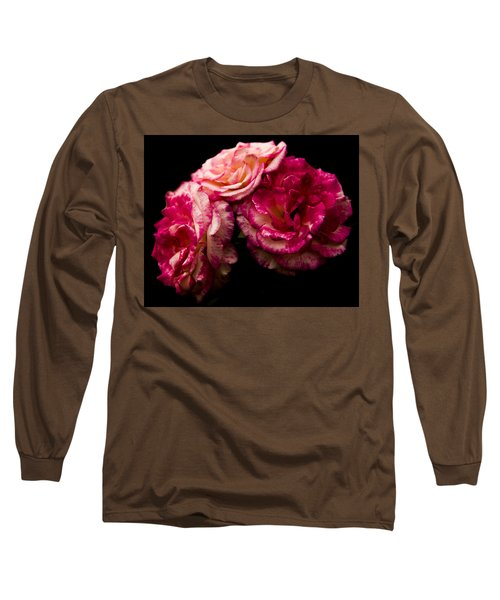 Long Sleeve T-Shirt featuring the photograph Pink Solitude by Theodore Jones