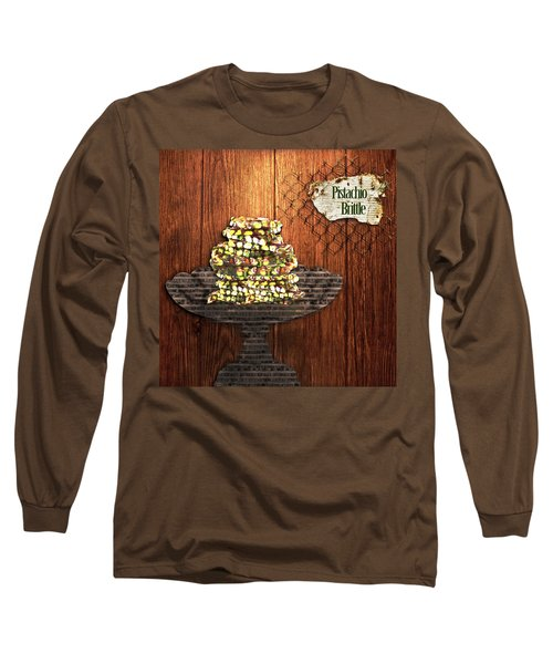 Pistachio Brittle Long Sleeve T-Shirt