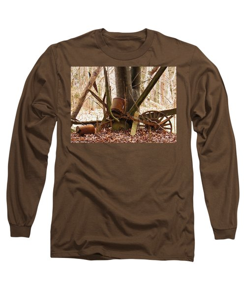 Long Sleeve T-Shirt featuring the photograph Planted Planter by Nick Kirby