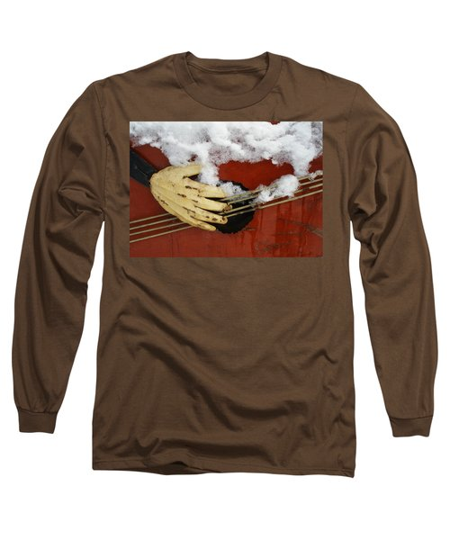 Playing The Cold Blues Long Sleeve T-Shirt