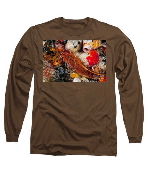 Long Sleeve T-Shirt featuring the photograph Please Feed Us  by Wilma  Birdwell