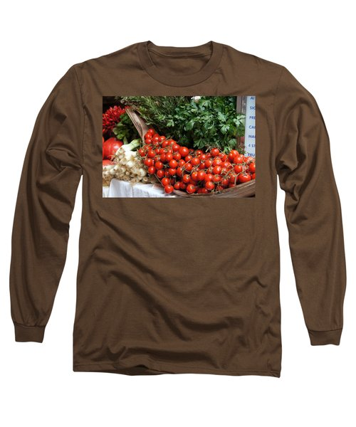 Plentiful Red Long Sleeve T-Shirt