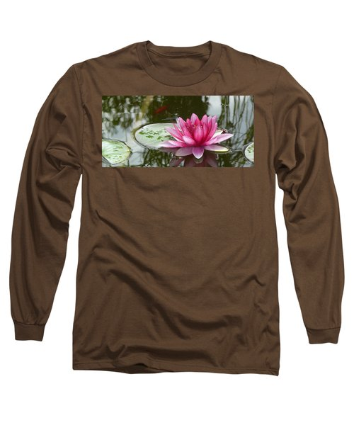 Pond Magic Long Sleeve T-Shirt by Evelyn Tambour