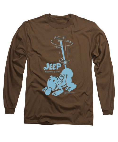 Popeye - Trouble Long Sleeve T-Shirt