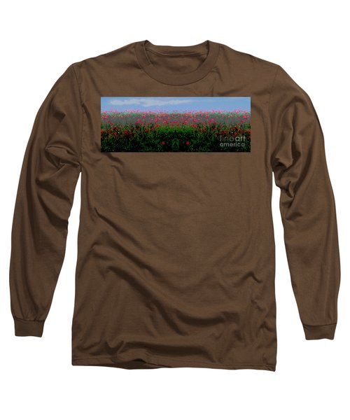 Poppies Field Long Sleeve T-Shirt
