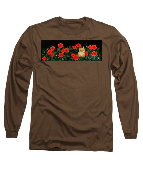 Poppy Cat Long Sleeve T-Shirt