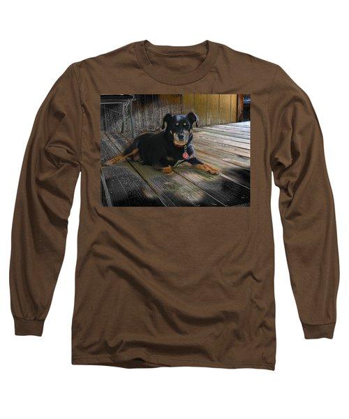 Porch Patrol Long Sleeve T-Shirt