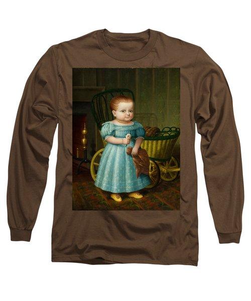 Portrait Of Sally Puffer Sanderson Long Sleeve T-Shirt
