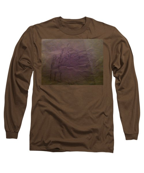 Pose1 Long Sleeve T-Shirt by Mary Ellen Anderson