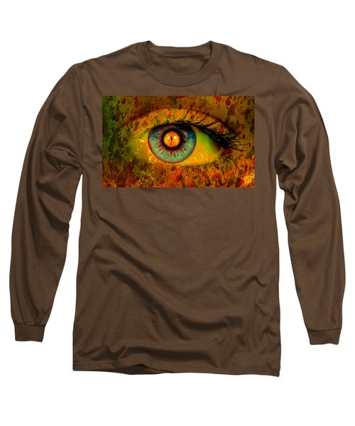 Possessed Long Sleeve T-Shirt by Ally  White
