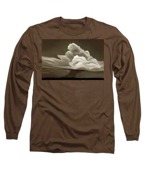 Prairy Storm IIi Long Sleeve T-Shirt by Garry McMichael