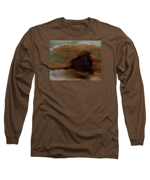 Preconceived Contrast Long Sleeve T-Shirt by Enzie Shahmiri