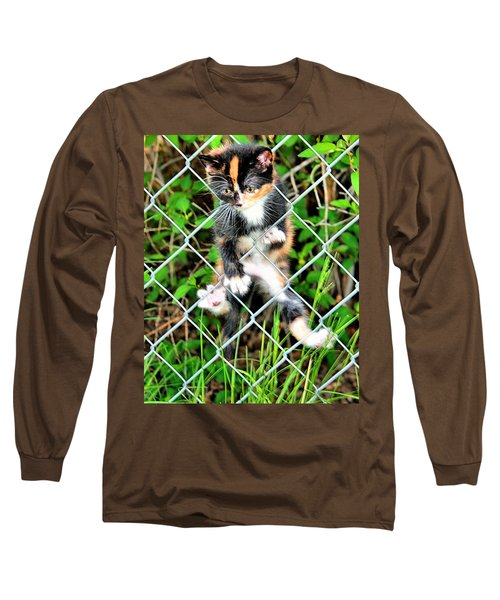 Predicament Long Sleeve T-Shirt by Steven Reed
