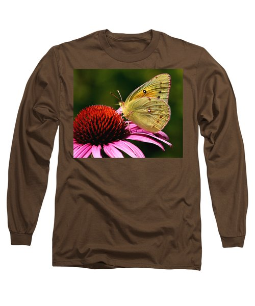 Pretty As A Butterfly Long Sleeve T-Shirt