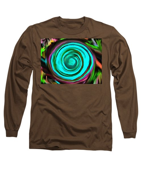 Long Sleeve T-Shirt featuring the digital art Pulled by Catherine Lott