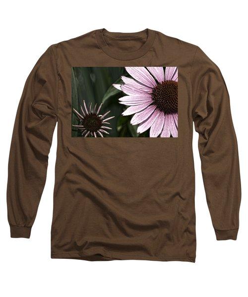 Purple Coneflower Imperfection Long Sleeve T-Shirt
