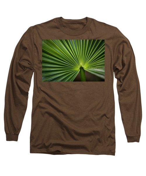 Radial Greens Long Sleeve T-Shirt